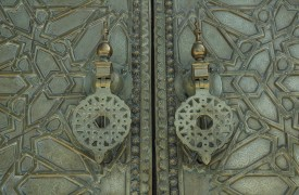 Brass Door