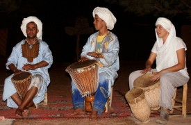 Drumming with Nomads