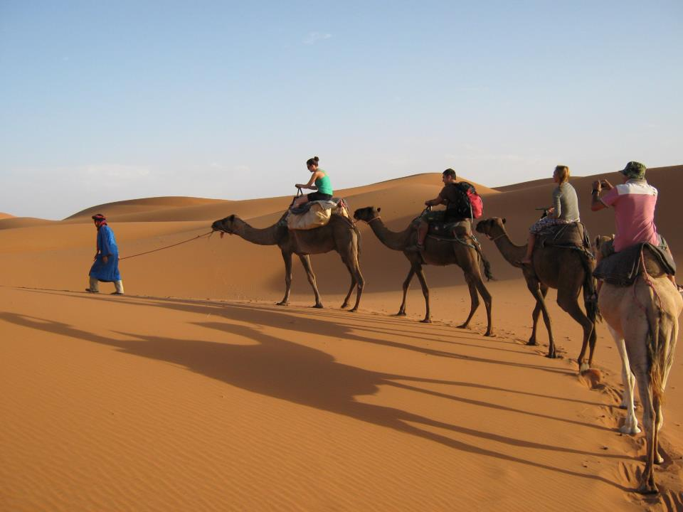 Our Sahara Desert trips are the ultimate in fun and service. We offer 100% private tours to our clients.  We offer safety and flexibility for you because you are the only client. Luxury vehicles, great English speaking guides and no strangers along for the ride...